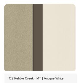 Office Color Palette: Pebble Creek | MT | Antique White