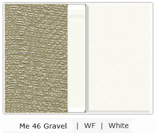 Office Color Palette: Me 46 Gravel | WF | White