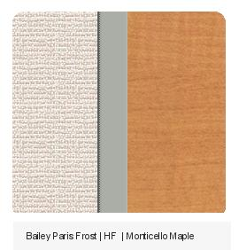 Office Color Palette: Baily Paris Frost | HF | Monticello Maple