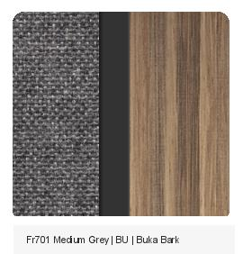 Fr701 Medium Grey | BU | Buka Bark