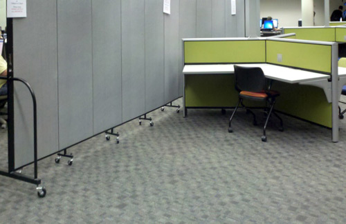 Portable room dividers for business - office spaces