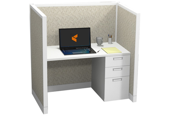 steelcase avenir 2x4x48 typical