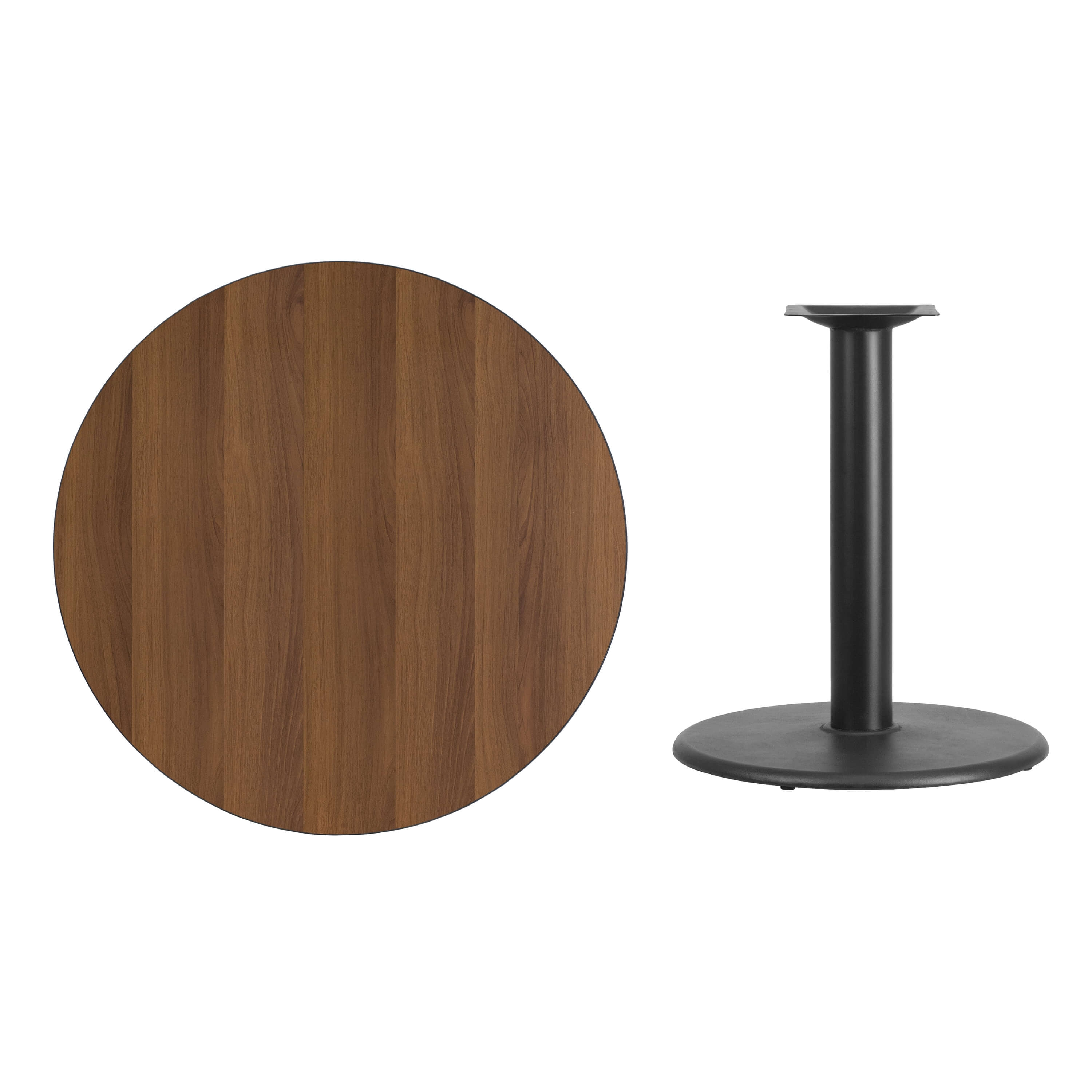 36inch restaurant round table parts