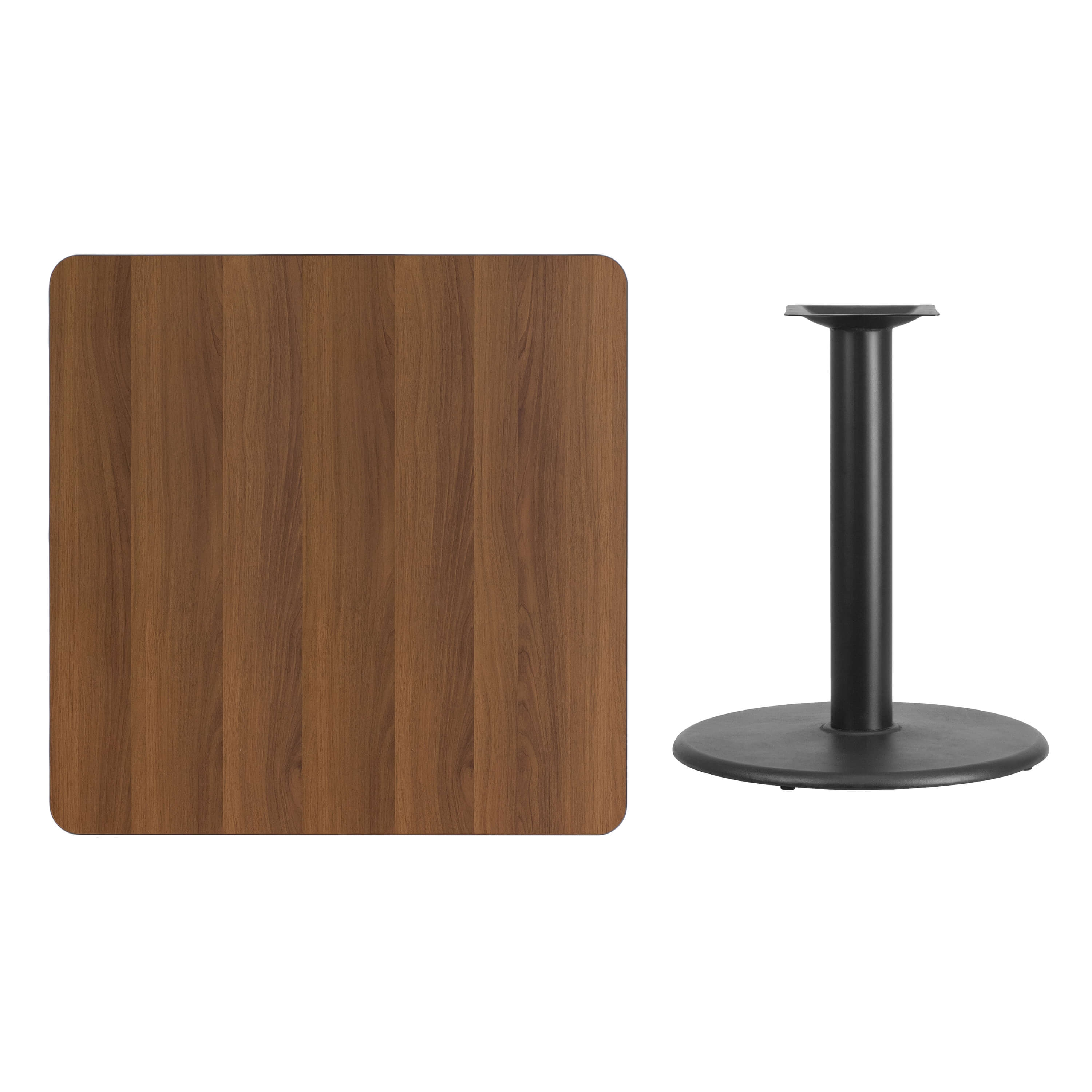 36inch sqare laminate dining table parts