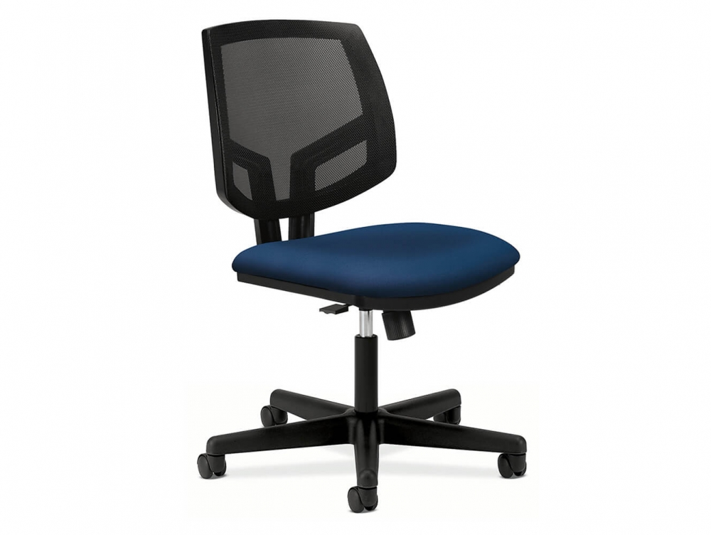 Volt 5713 blue desk chair for Blue office chair