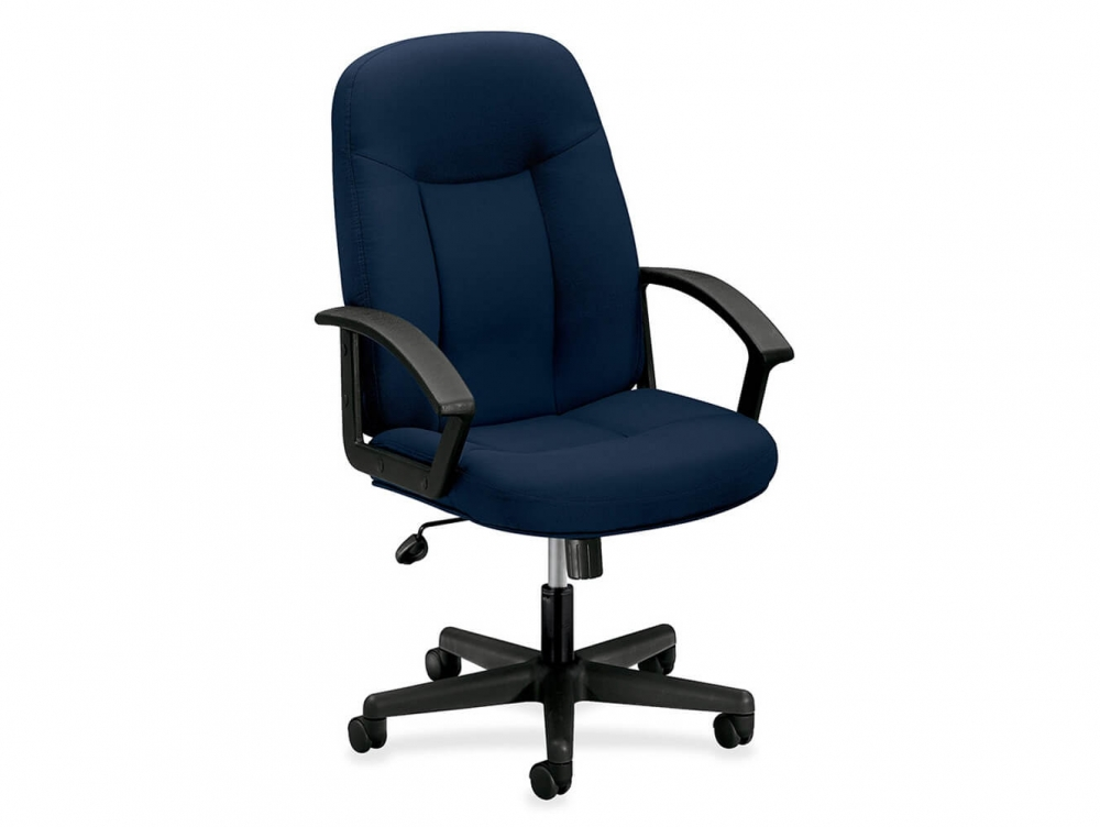 Image of: Cloth Office Chairs Intended Tygerclaw High Back Fabric Office Chair tyfc2318 Staples