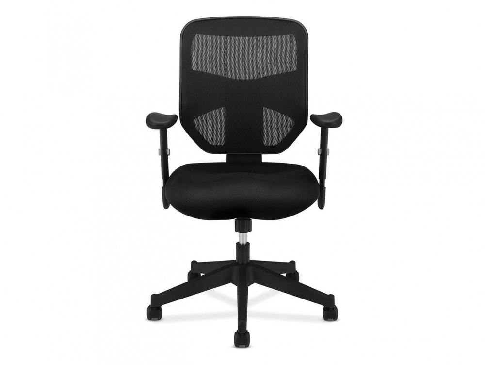 HON task chair front view