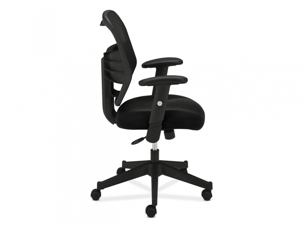 HON task chair side view
