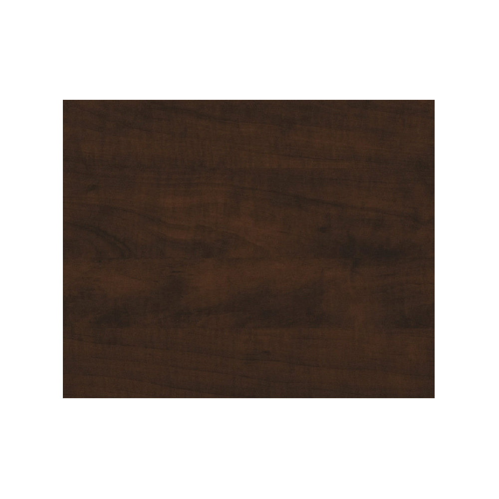 Wood reception desk CUB B2013 R001 FOI chocolate pear