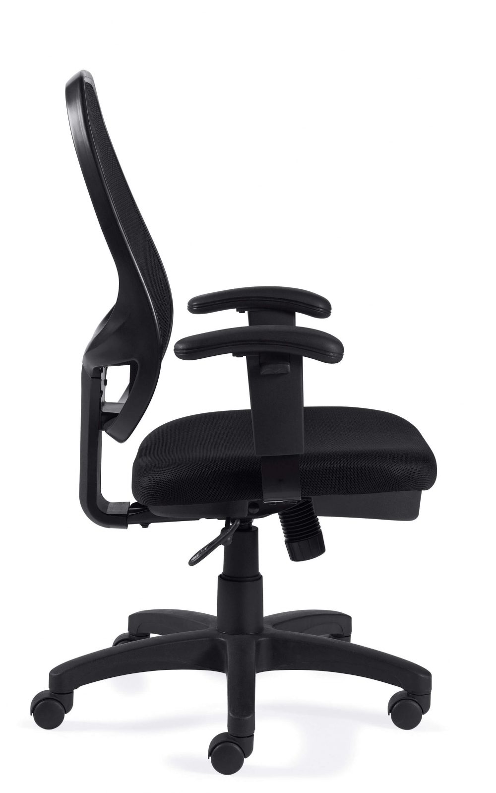 Adjustable chairs side view