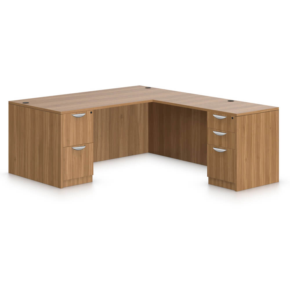 Affordable office furniture desks CUB SL S AWL GTO