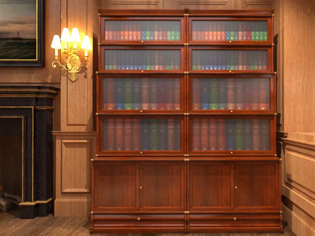 Barrister bookcase environmental 1