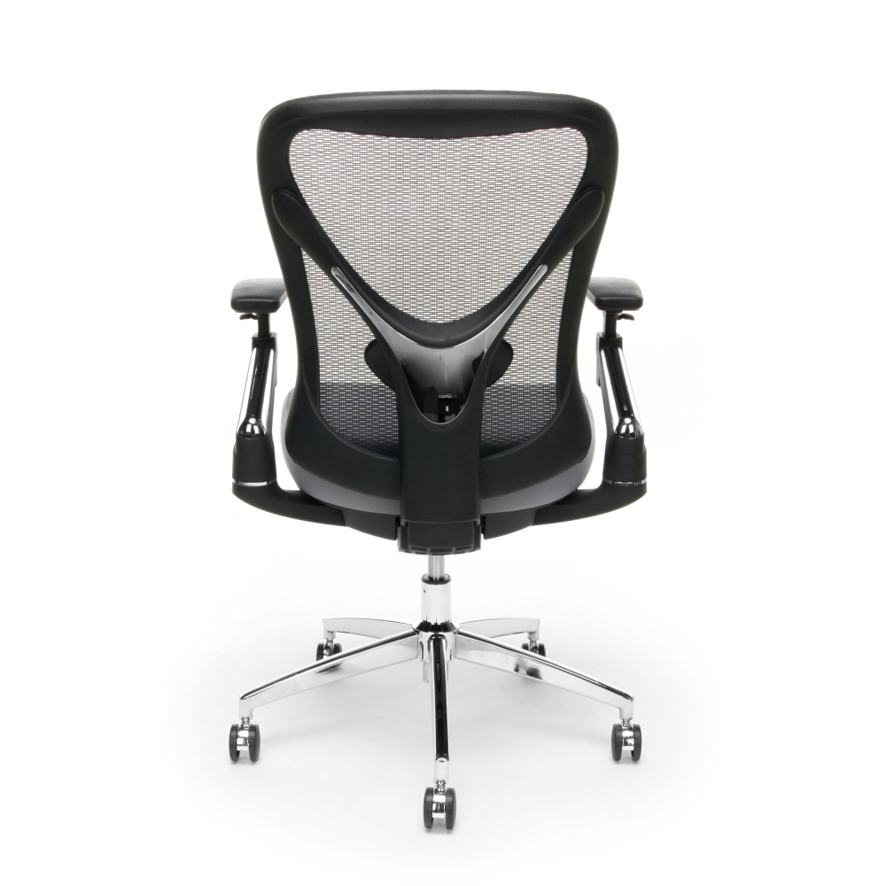 Best office chair for big and tall rear view