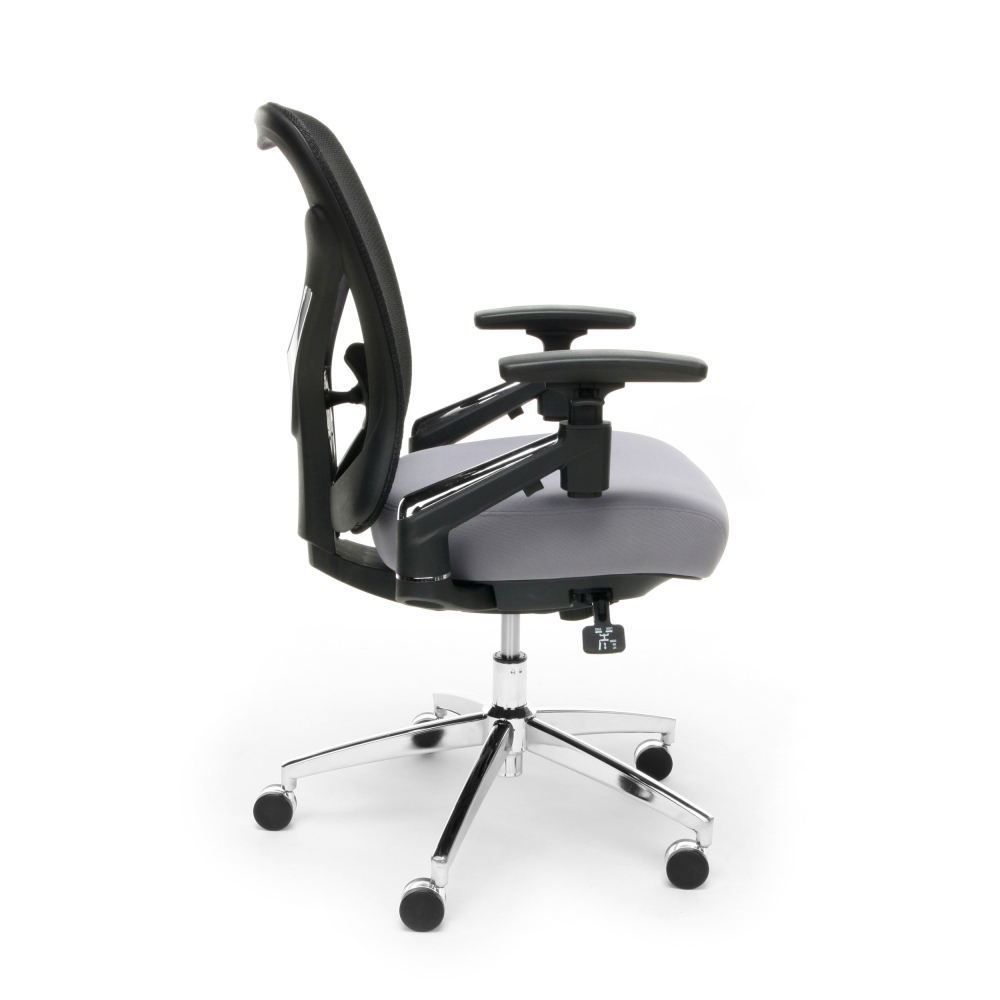 Best office chair for big and tall side view