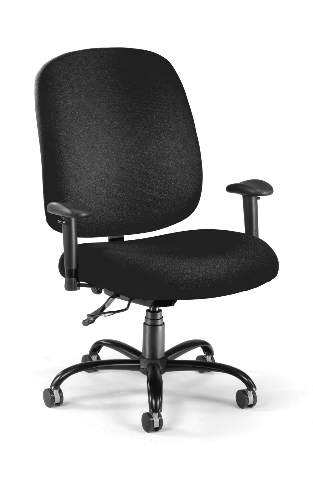Big and tall desk chairs cub 700 aa6 236 black mfo