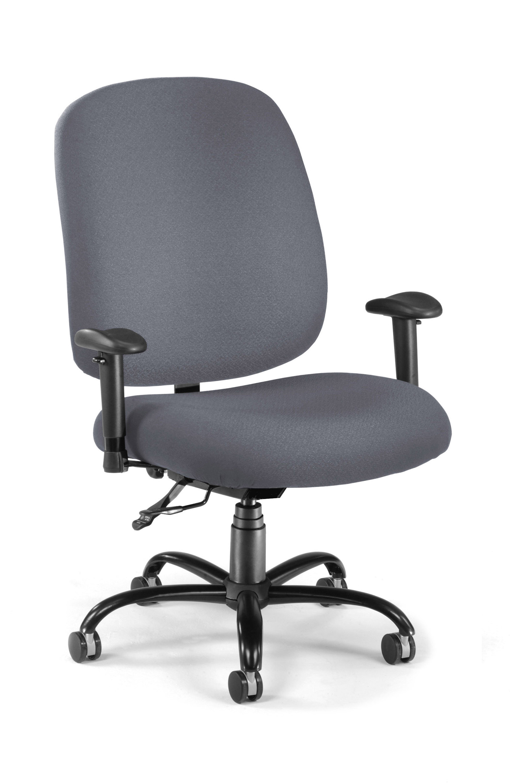 Big and tall desk chairs cub 700 aa6 239 gray mfo