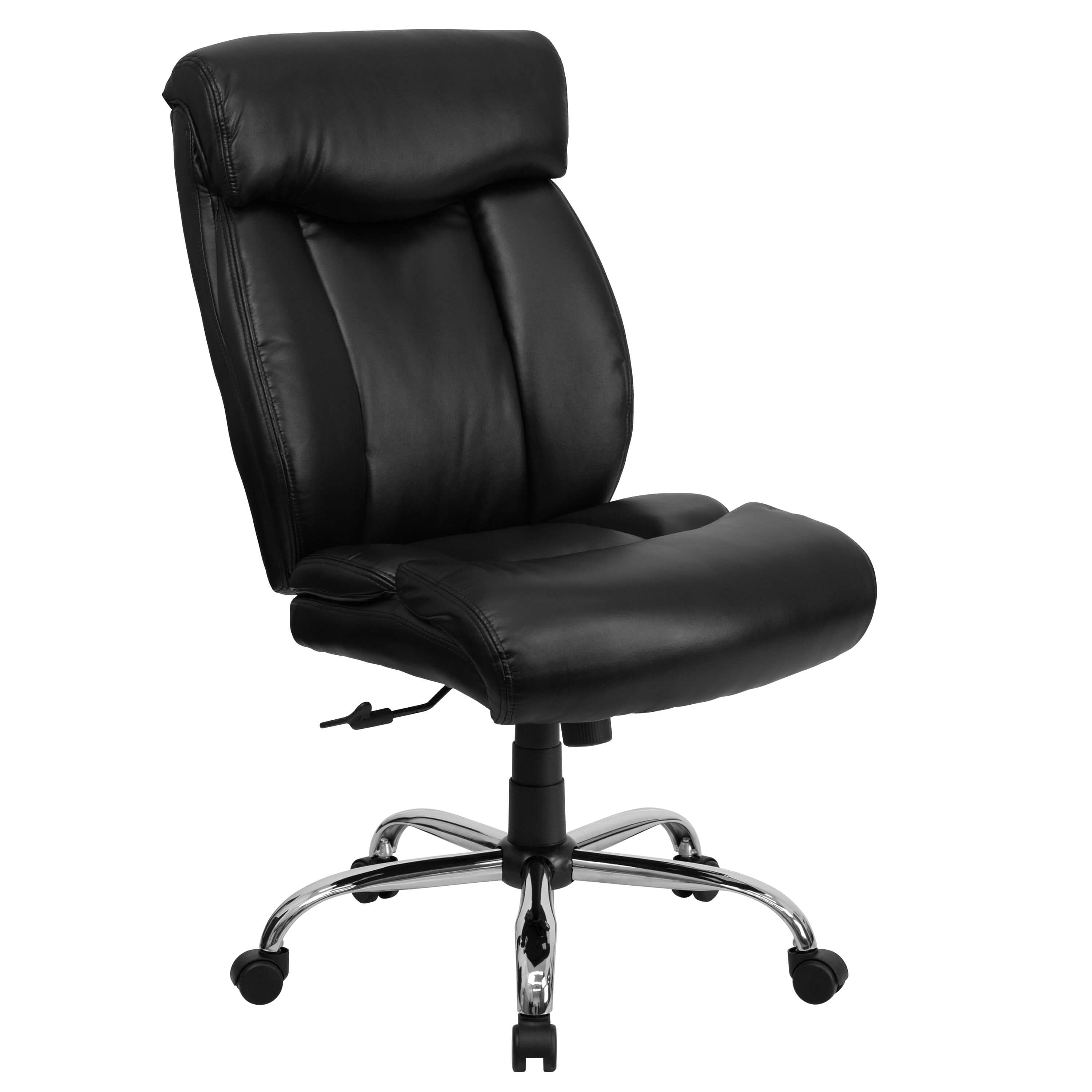 Big and tall executiv office chairs CUB GO 1235 BK LEA GG ALF
