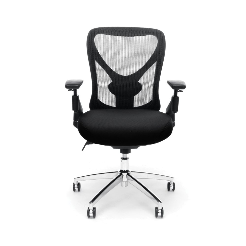 Big and tall mesh office chairs cub 257 black mfo