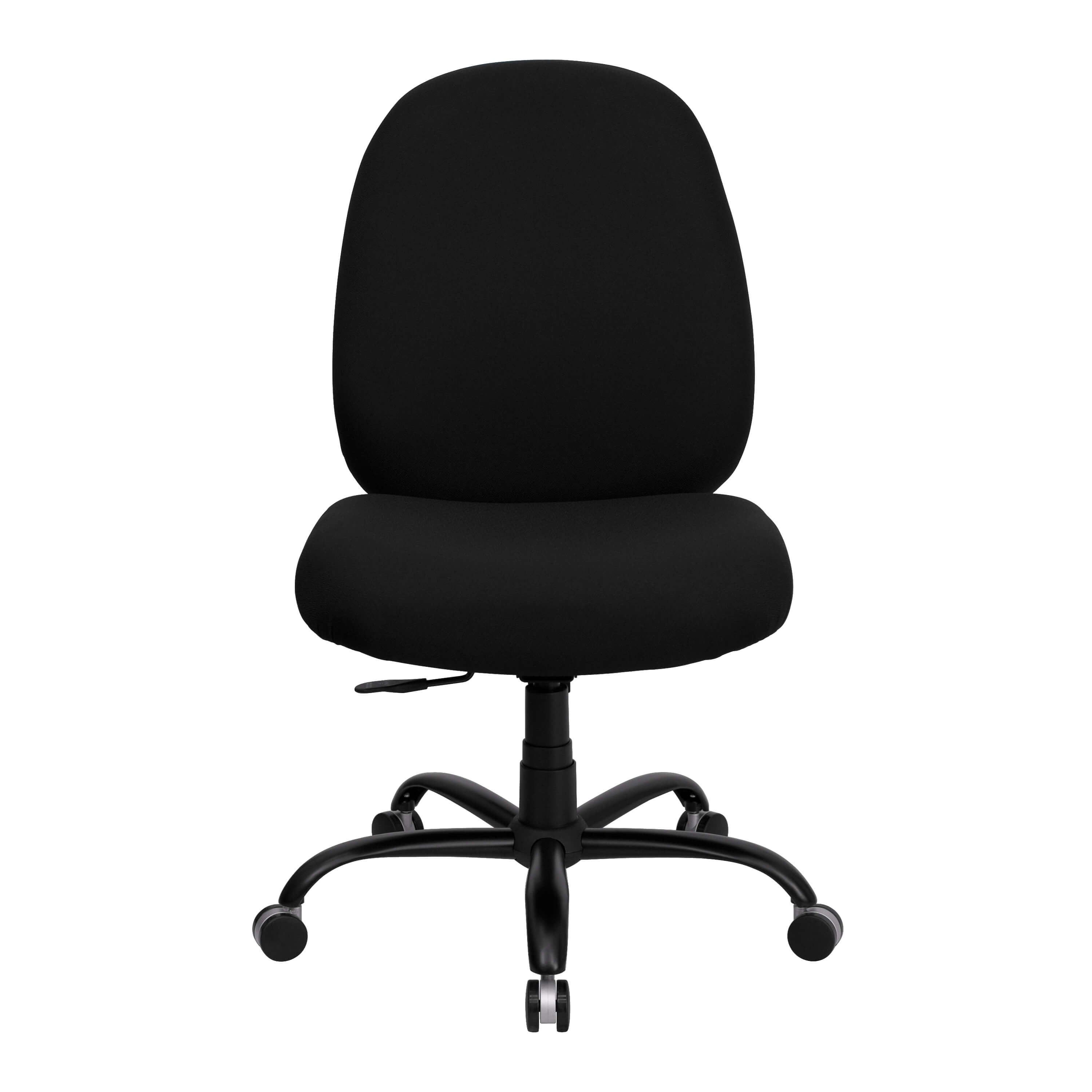 Big tall office chair front view