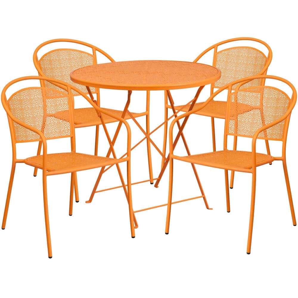 Bistro table set CUB CO 30RDF 03CHR4 OR GG FLA