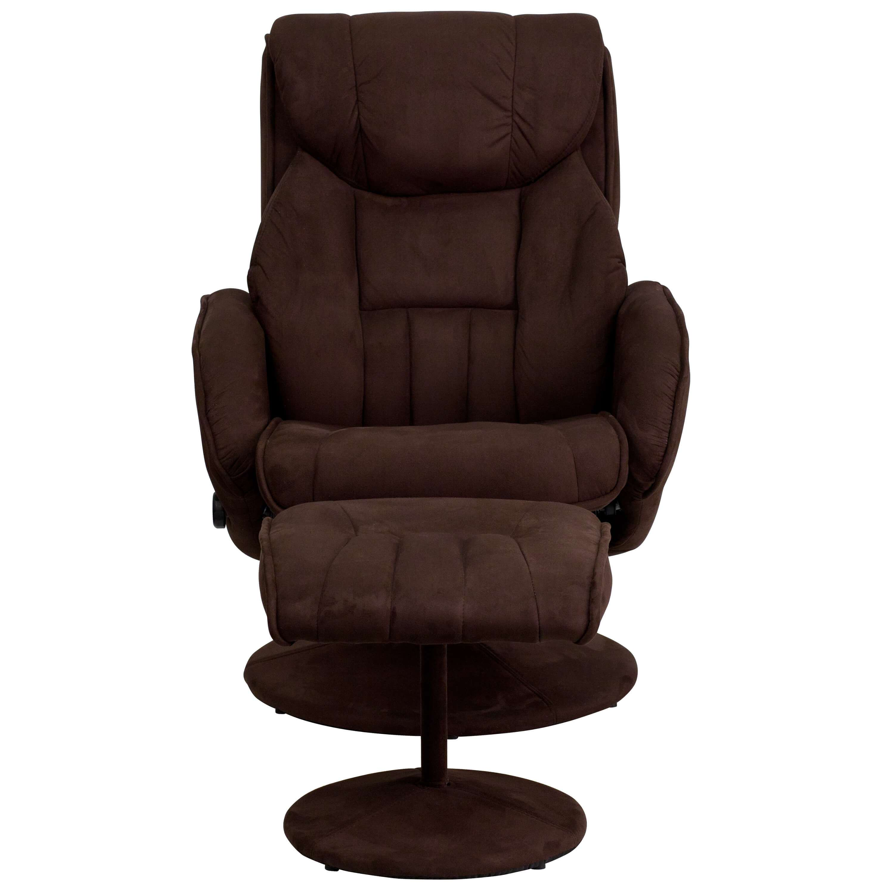 Brown Recliner Chair Front View