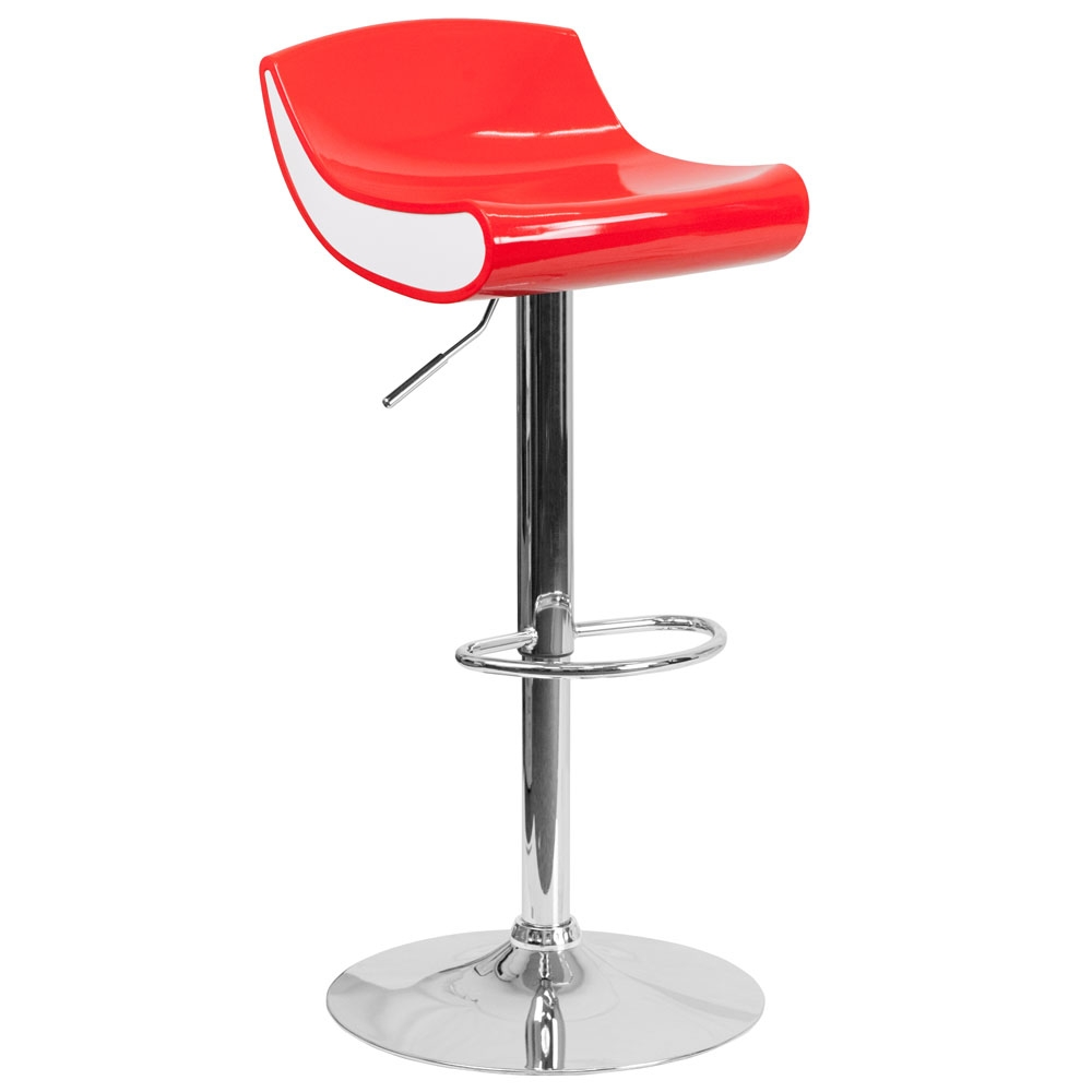 Cafe chairs CUB CH 101010 RED GG FLA