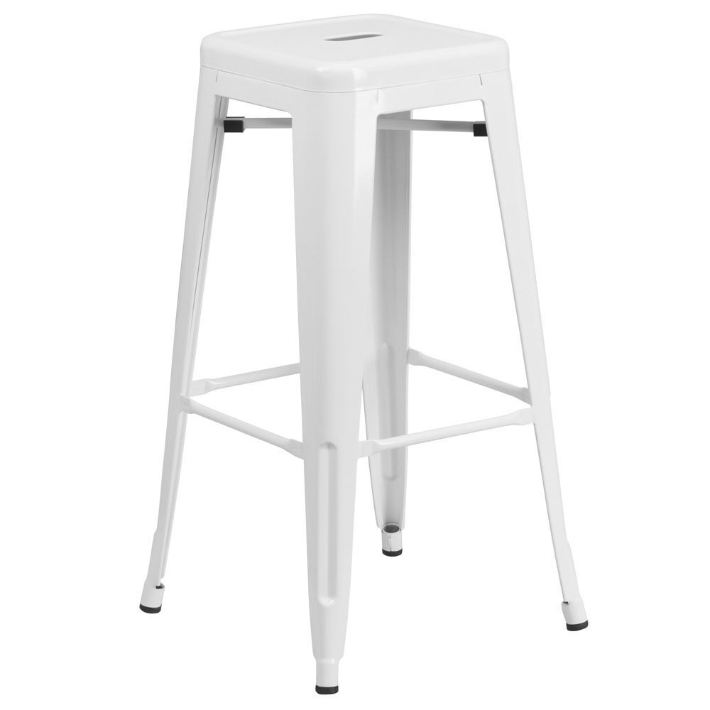 Cafe chairs CUB CH 31320 30 WH GG FLA