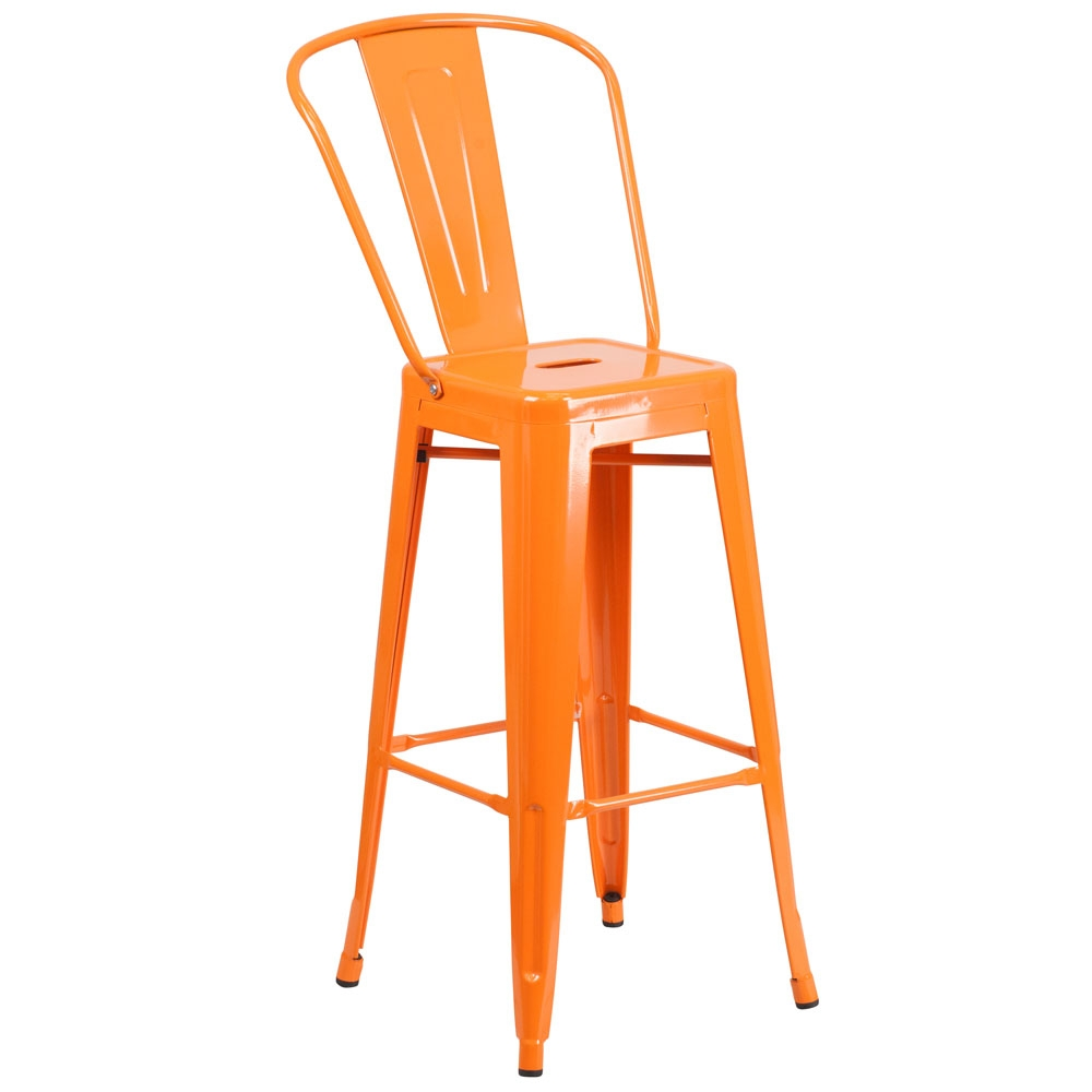 Cafe chairs CUB CH 31320 30GB OR GG FLA