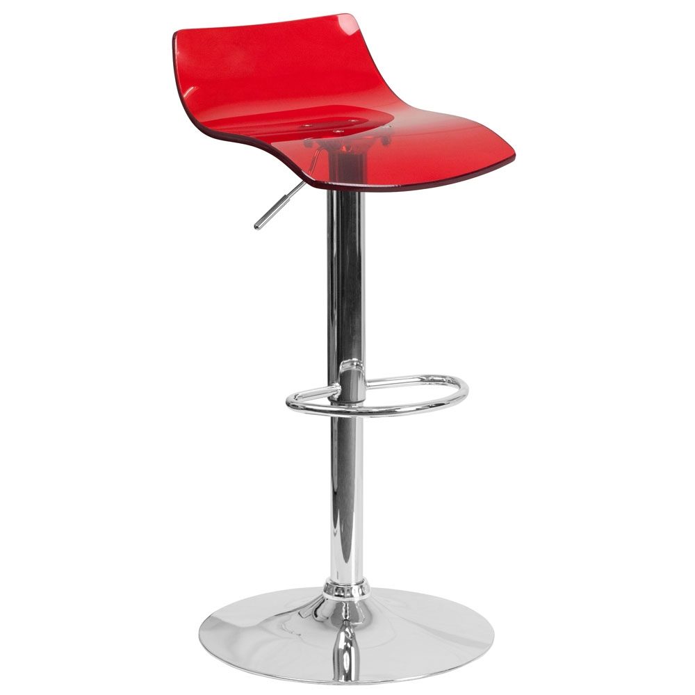 Cafe chairs CUB CH 88005 RED GG FLA