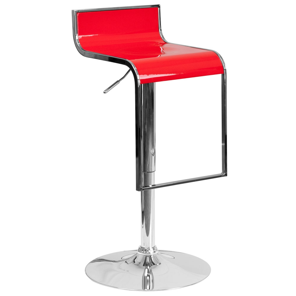 Cafe chairs CUB CH TC3 1027P RED GG FLA