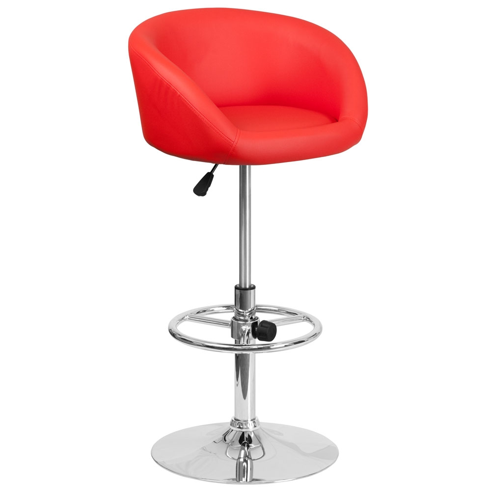 Cafe chairs CUB CH TC3 1066L RED GG FLA
