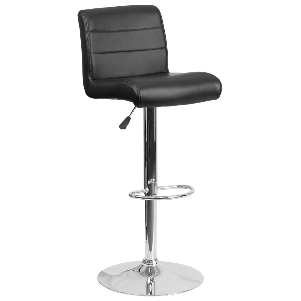 Cafe chairs CUB DS 8101B BK GG FLA