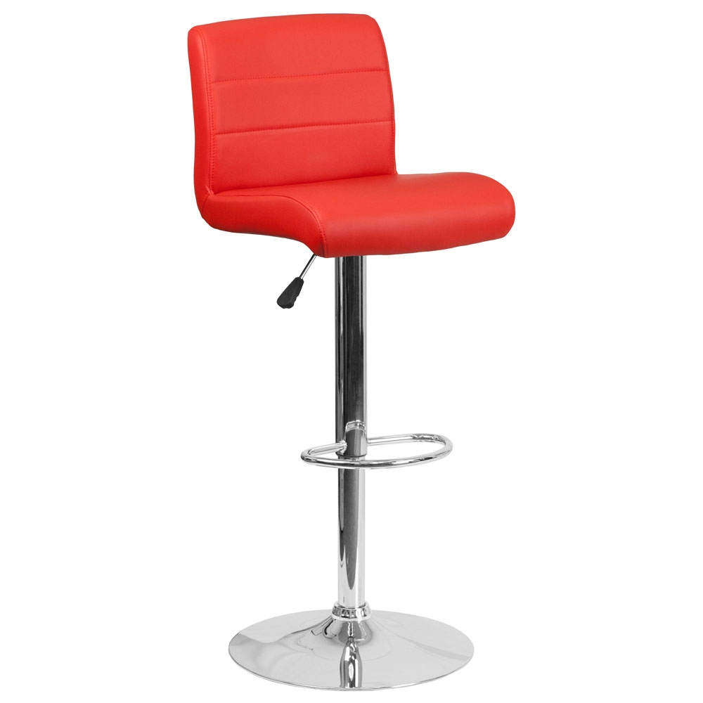 Cafe chairs CUB DS 8101B RED GG FLA