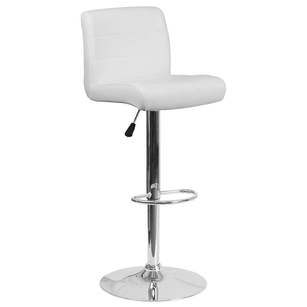 Cafe chairs CUB DS 8101B WH GG FLA