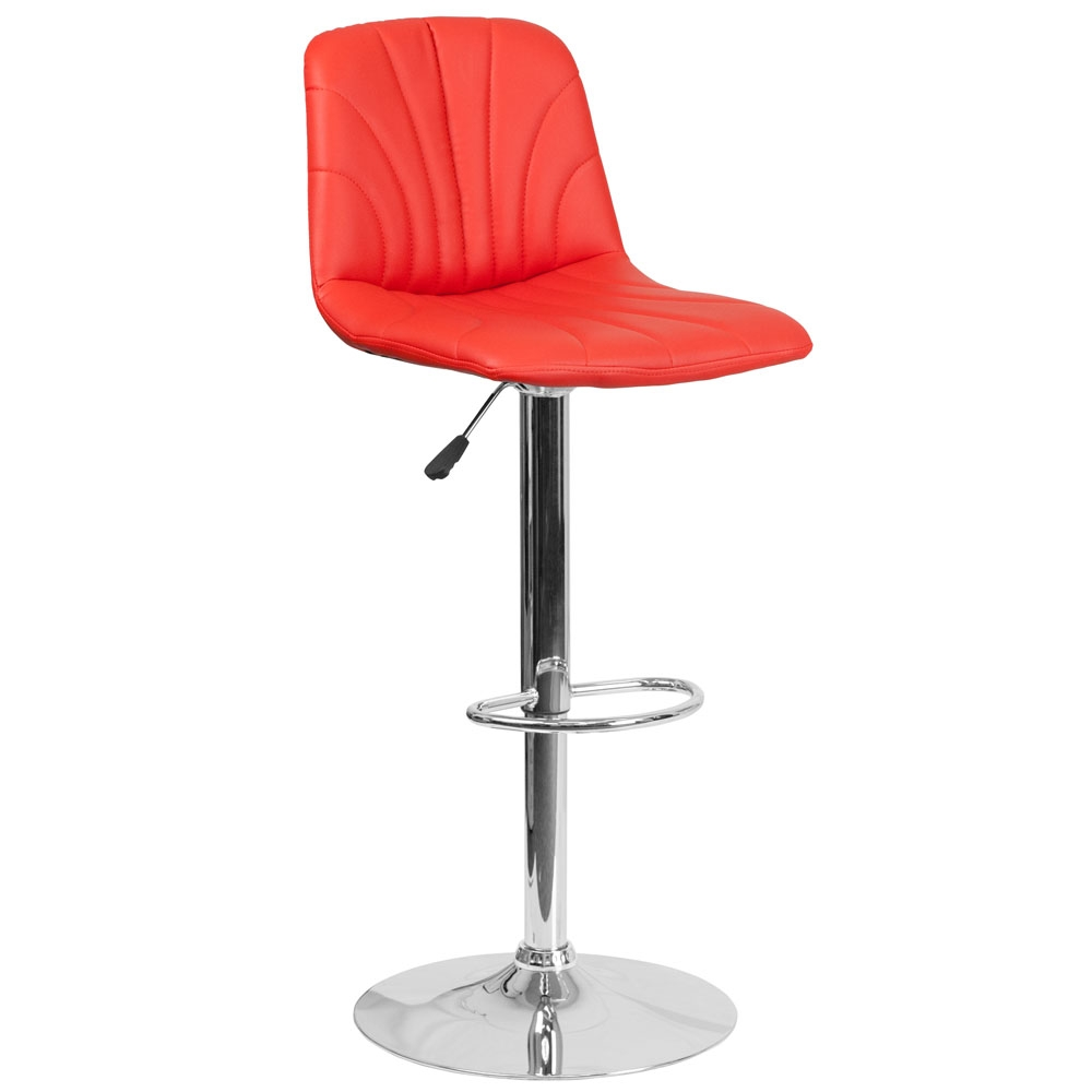 Cafe chairs CUB DS 8220 RED GG FLA