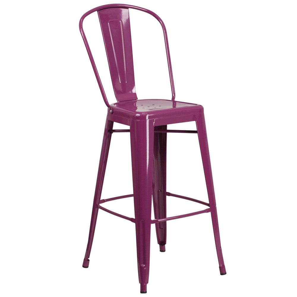 Cafe chairs CUB ET 3534 30 PUR GG FLA