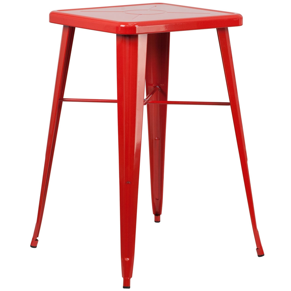 Cafe table CUB CH 31330 RED GG FLA