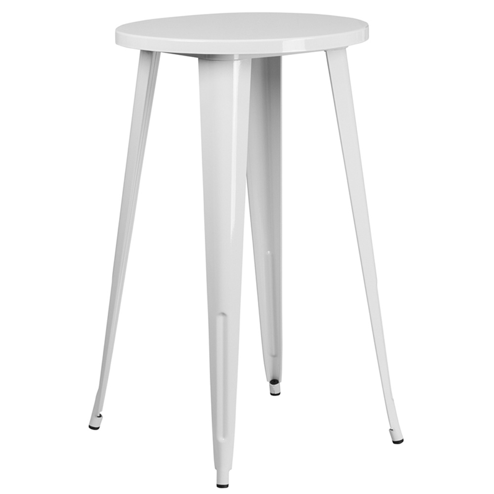 Cafe table CUB CH 51080 40 WH GG FLA