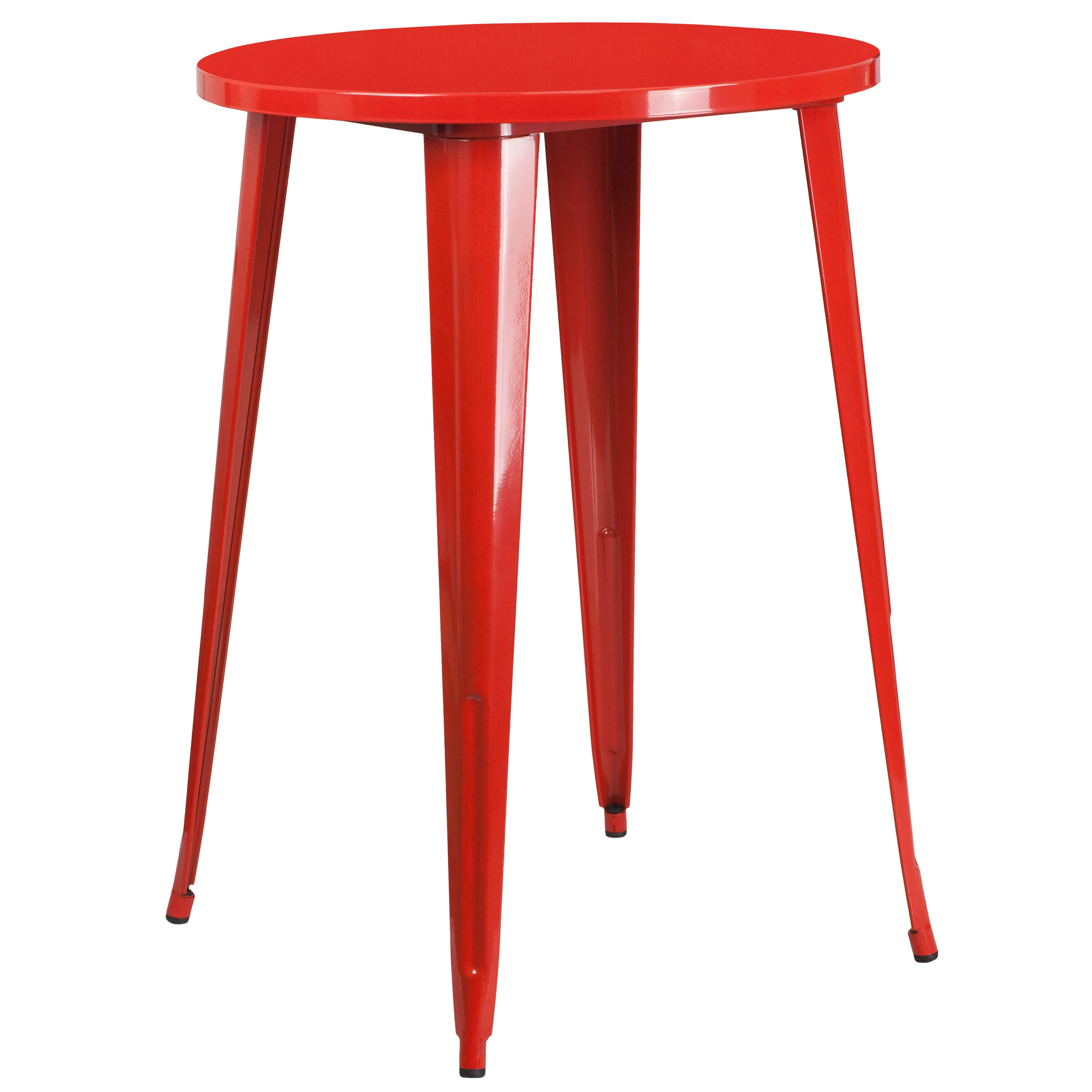 Cafe table CUB CH 51090 40 RED GG FLA