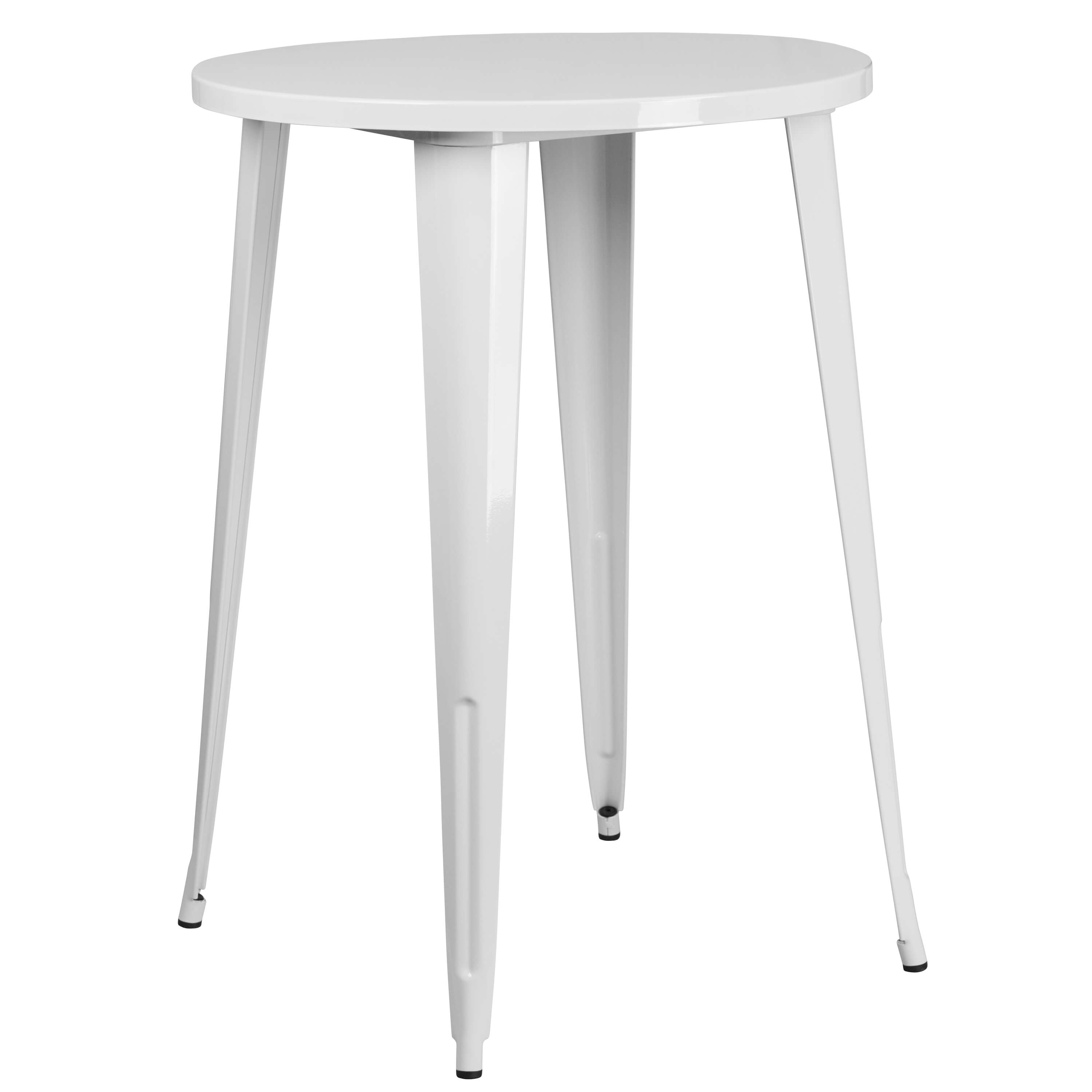 Cafe table CUB CH 51090 40 WH GG FLA