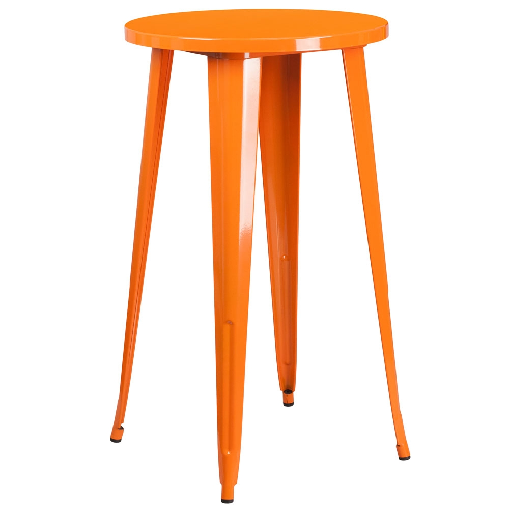 Cafe tables and chairs virginia orange