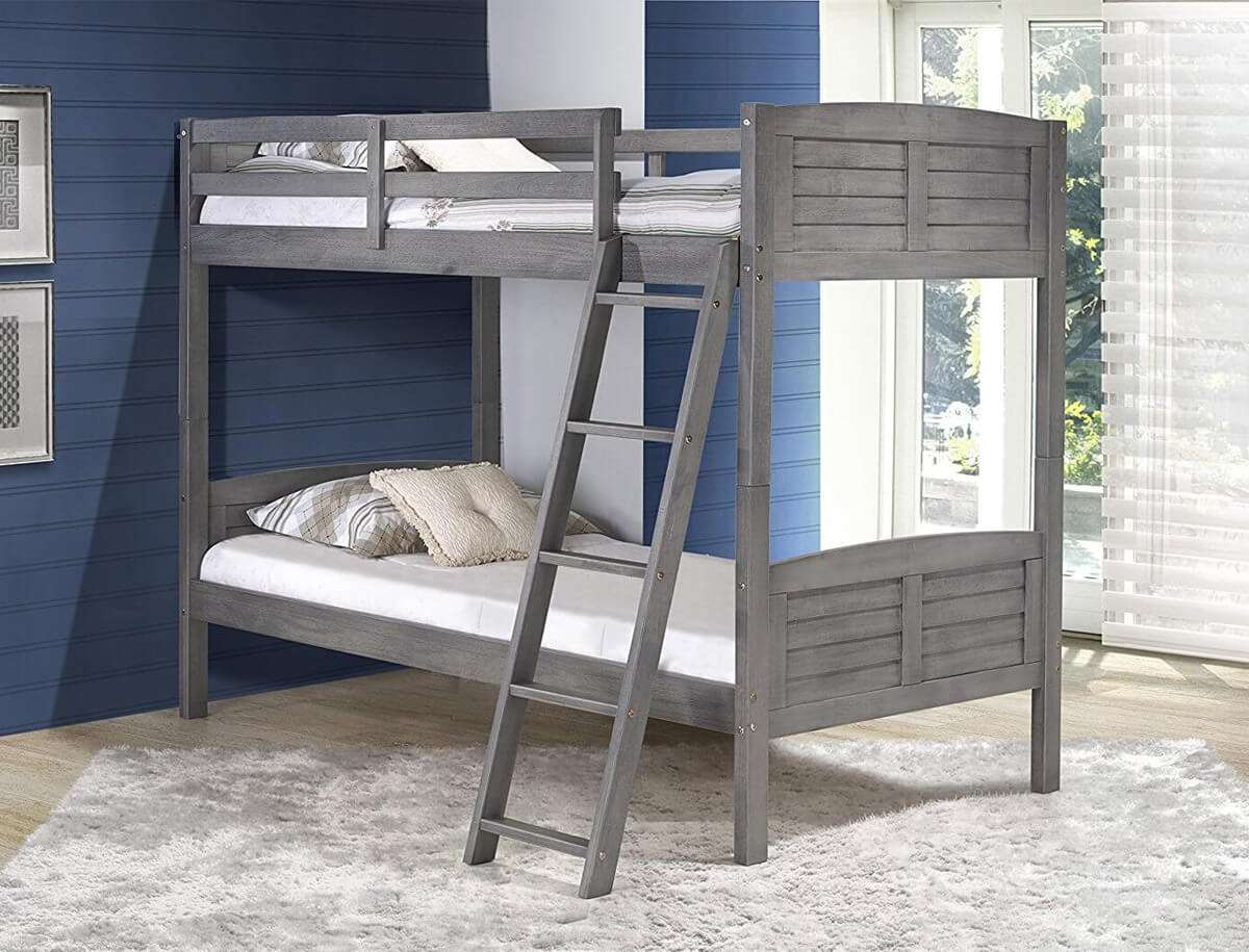 Picture of: Kids Bunk Beds Camelot Double Bunk Beds