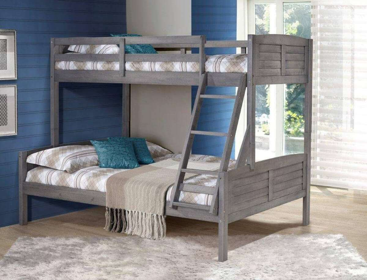 Picture of: Kids Bunk Beds Meru Full Size Bunk Beds