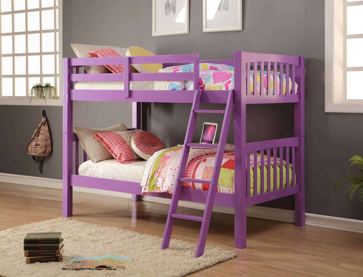 Kids Bunk Beds Elfrida Girls Bunk Beds