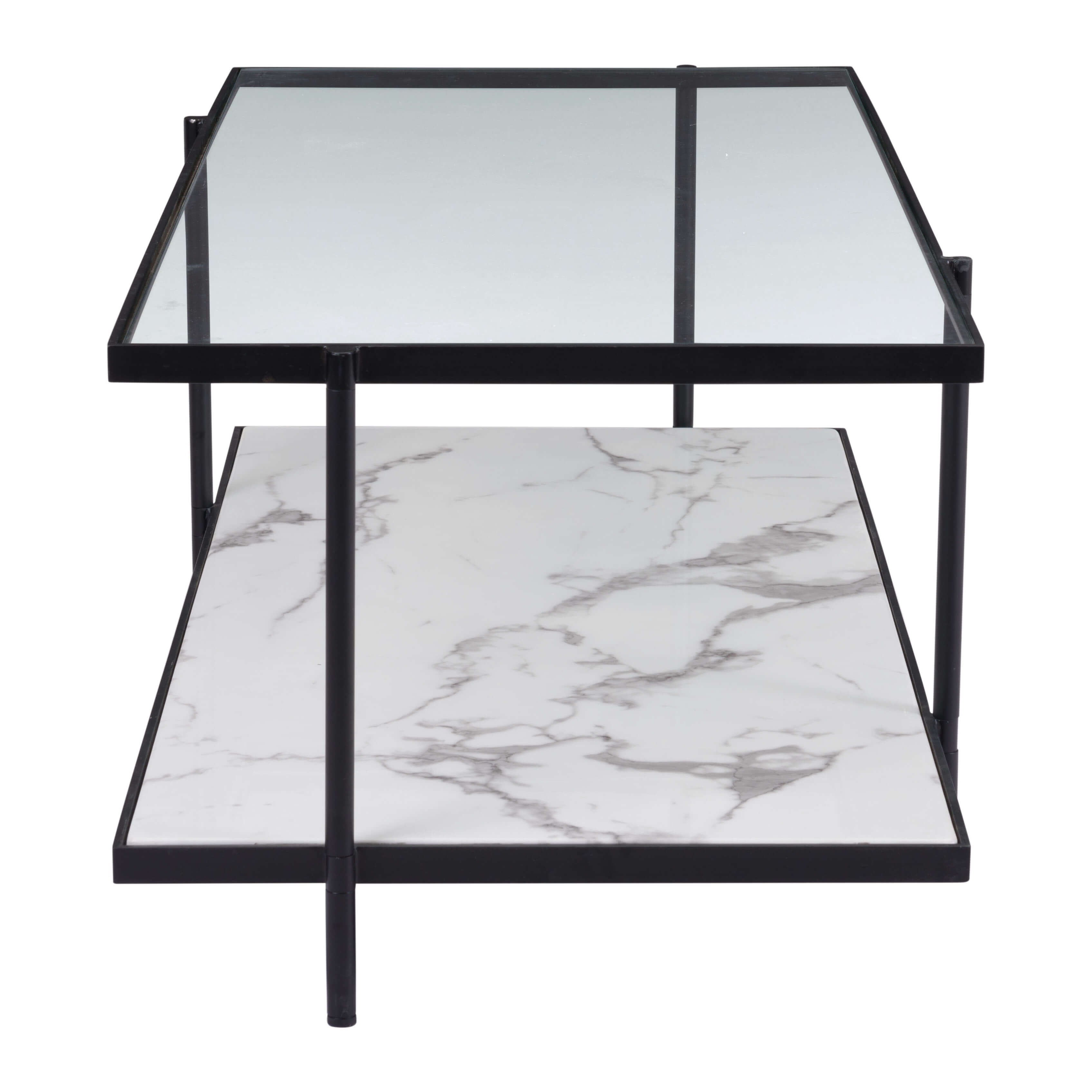 Coffee table rectangular front view