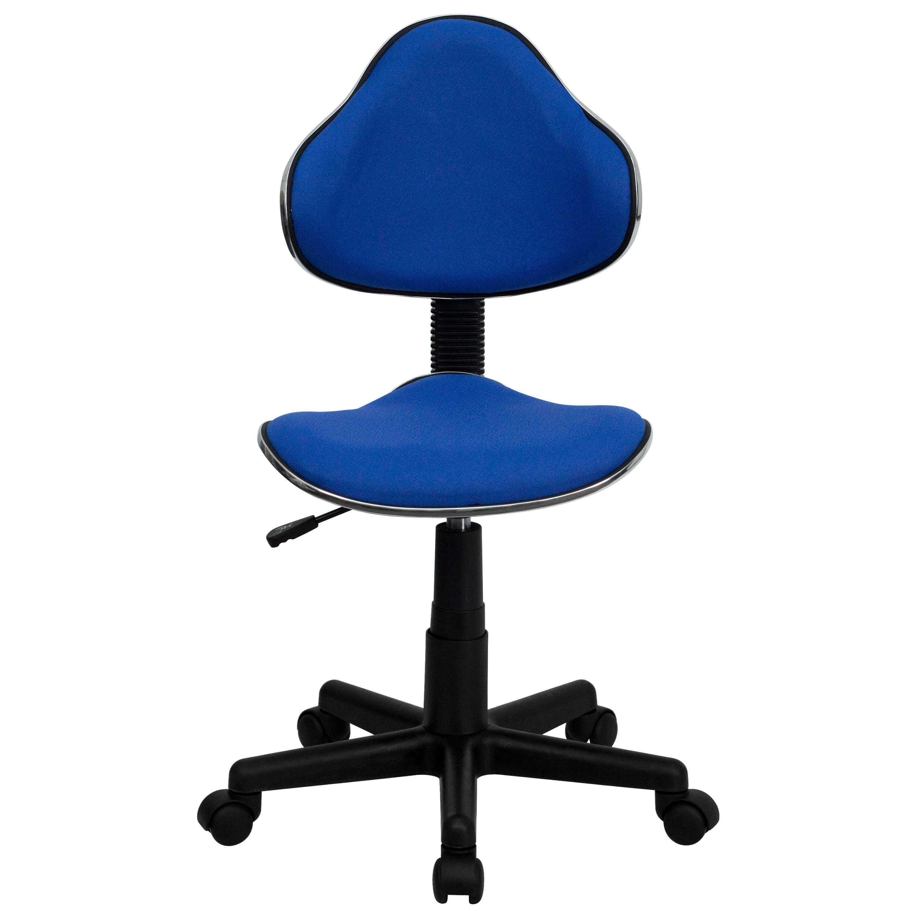 Colorful desk chairs CUB BT 699 BLUE GG FLA