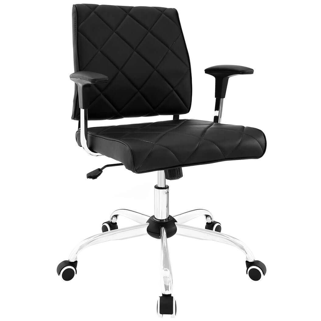 Colorful desk chairs CUB EEI 1247 BLK MOD