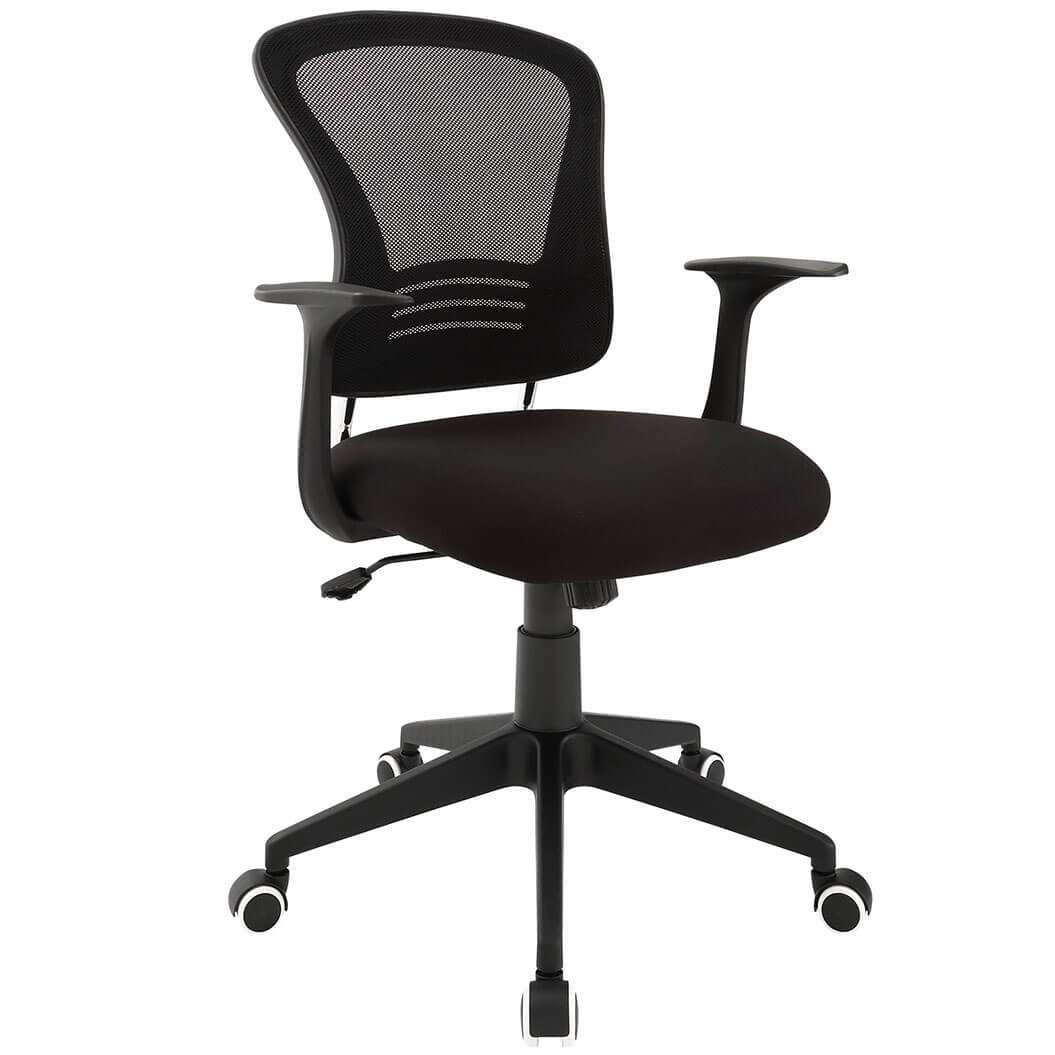 Colorful desk chairs CUB EEI 1248 BLK MOD