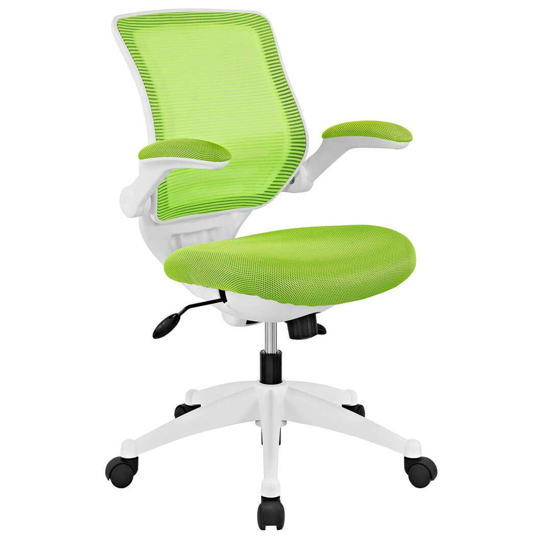 Colorful Desk Chairs CUB EEI 596 GRN MOD