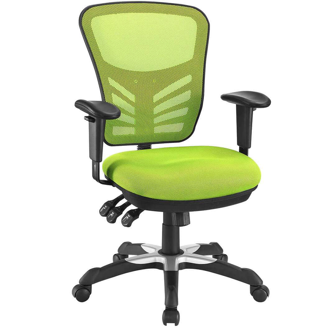 Colorful desk chairs CUB EEI 757 GRN MOD
